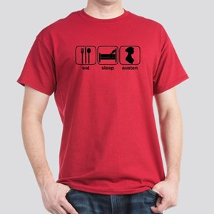 Eat Sleep Austen Dark T-Shirt