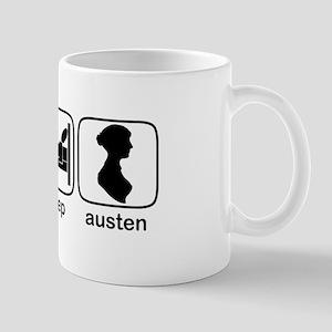 Eat Sleep Austen Mug