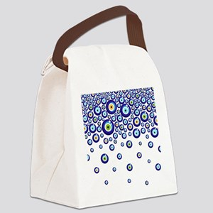 Evil eye Canvas Lunch Bag