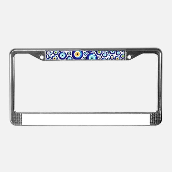 Evil eye License Plate Frame