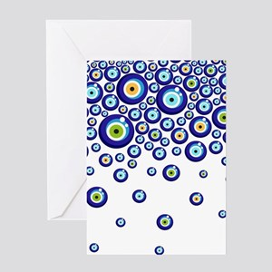 Evil eye Greeting Cards