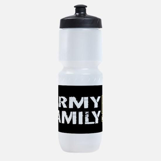 U.S. Army: Family (Black) Sports Bottle