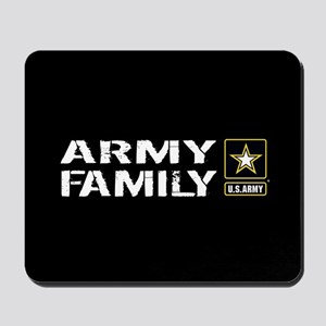 U.S. Army: Family (Black) Mousepad