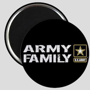 U.S. Army: Family (Black) Magnet