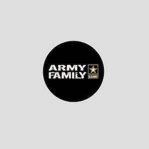 U.S. Army: Family (Black) Mini Button