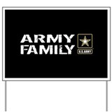 Military family Yard Signs