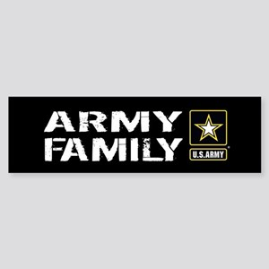 U.S. Army: Family (Black) Sticker (Bumper)