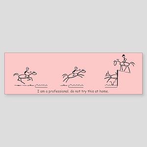 I am a Professional: Eventing / Bumper Sticker