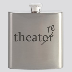 Theatre Re or Theater Er Flask