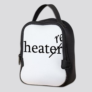 Theatre Re or Theater Er Neoprene Lunch Bag
