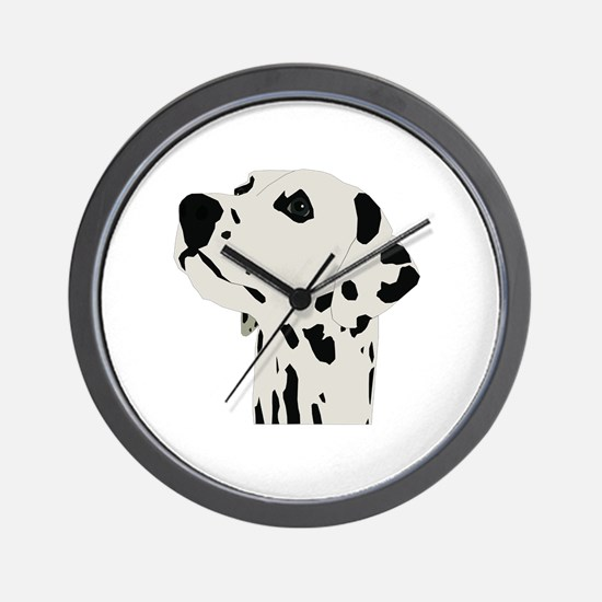 Cute Dalmatian Wall Clock