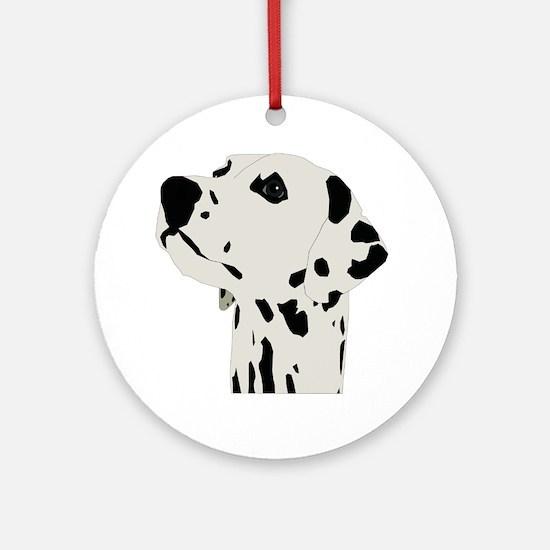 Unique Dalmatian Round Ornament