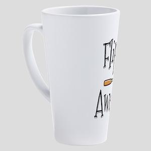 Flippin Awesome Cooking 17 oz Latte Mug