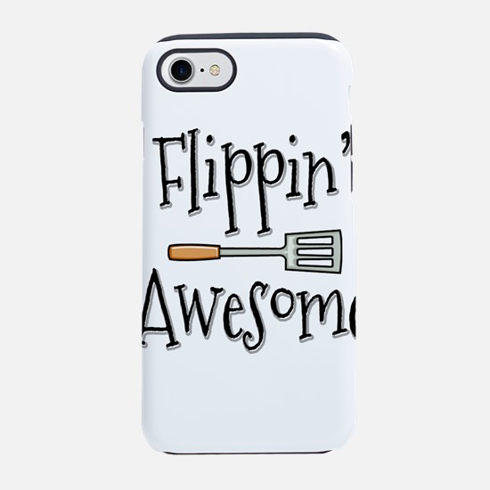 Flippin Awesome Cooking iPhone 8/7 Tough Case