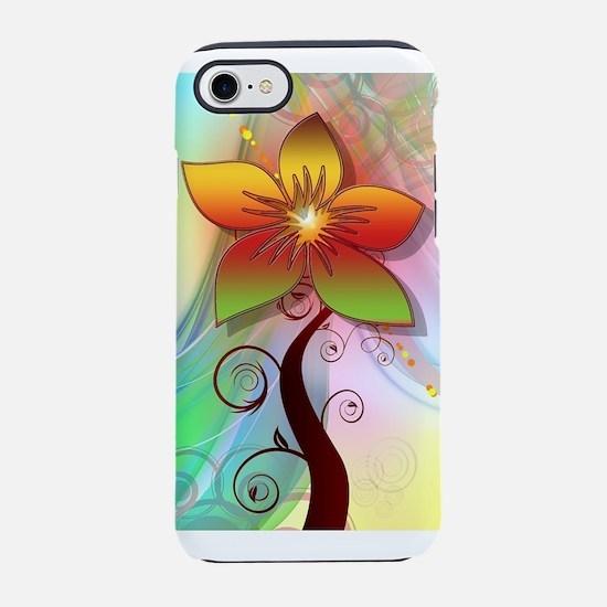 Pastel Computer Graphics Flo iPhone 8/7 Tough Case