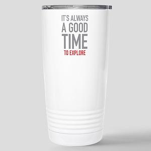 Explore Stainless Steel Travel Mug