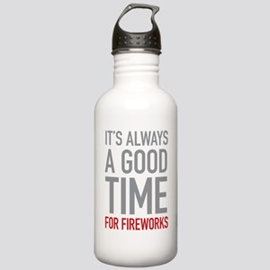 Fireworks Stainless Water Bottle 1.0L