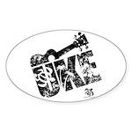 The Uke XL Sticker