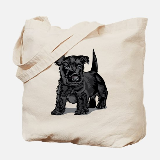 Cute Schnoodle Tote Bag