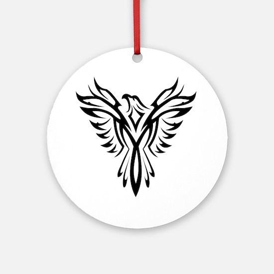 Cool Phoenix Round Ornament