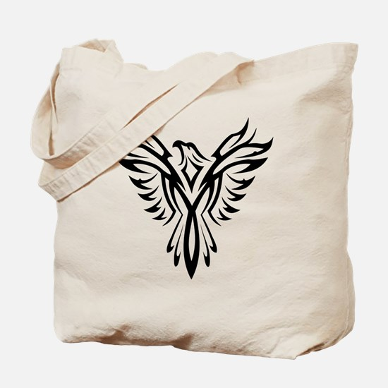 Cool Phoenix bird Tote Bag