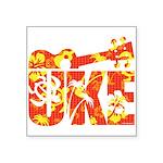 Uke Hawaii Pattern Sticker