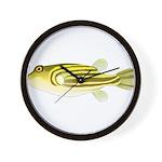 Nile Puffer fish Wall Clock