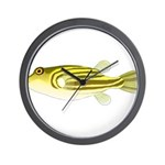 Nile Puffer fish Wall Clock