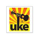 Uke Fist Power Sticker