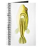 Nile Puffer fish Journal