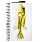 Nile Puffer fish Journal