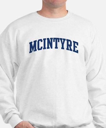 MCINTYRE design (blue) Sweatshirt