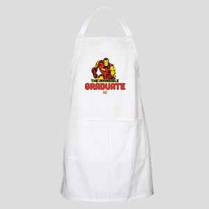 Iron Man The Invincible Graduate Apron