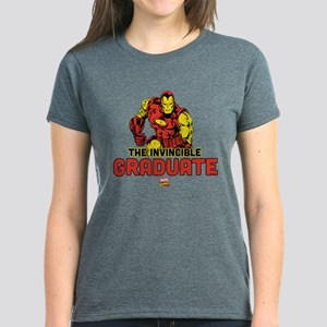 Iron Man The Invincible Gradu Women's Dark T-Shirt