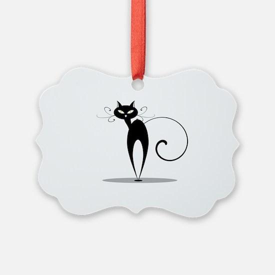 Funny Cat design Ornament