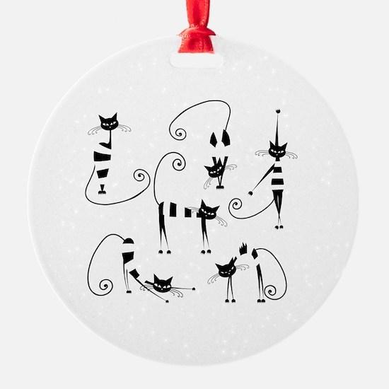 Unique Cat design Ornament