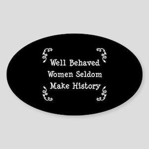 Well Behaved Sticker