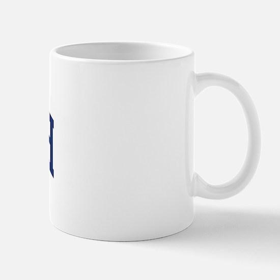 MCHUGH design (blue) Mug