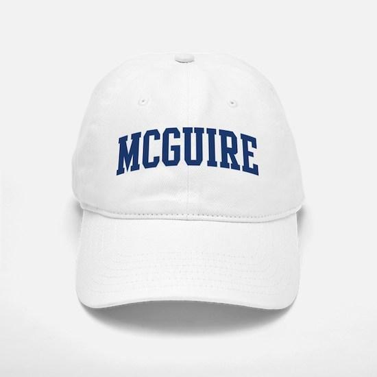 MCGUIRE design (blue) Baseball Baseball Cap