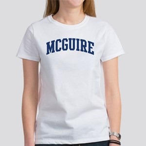 MCGUIRE design (blue) Women's T-Shirt