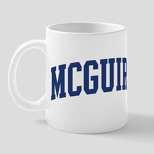 MCGUIRE design (blue) Mug