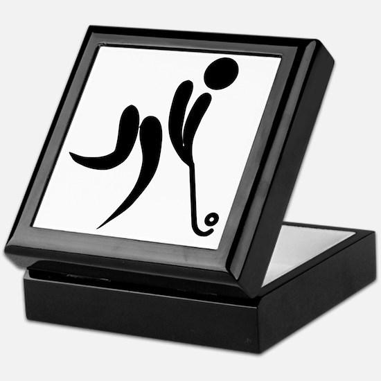 Cute Sports clips Keepsake Box