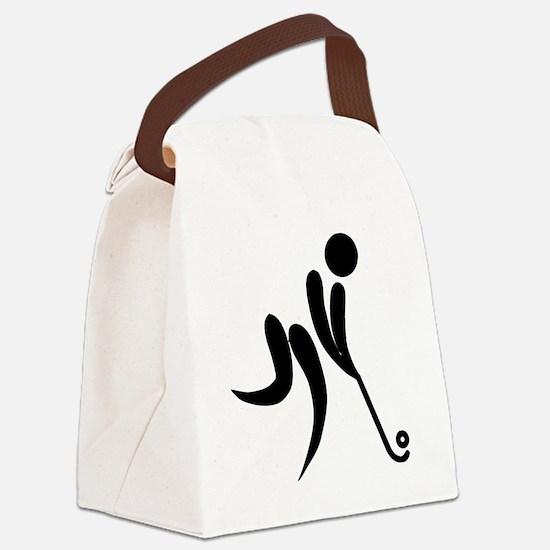 Unique Field hockey Canvas Lunch Bag