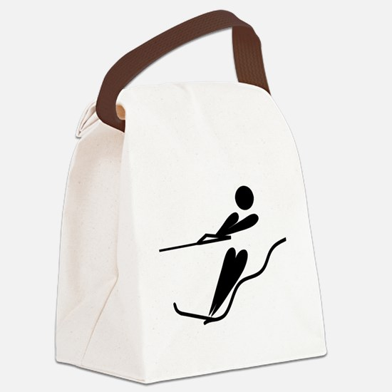 Funny Sports clips Canvas Lunch Bag