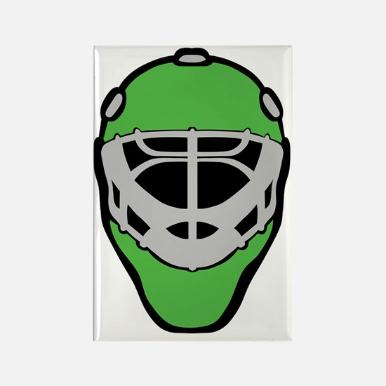 Abstract hockey Rectangle Magnet