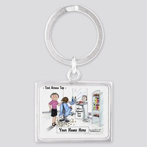 Hair Dresser, Female Keychains