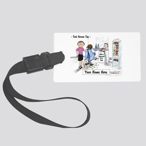 Hair Dresser, Female Luggage Tag