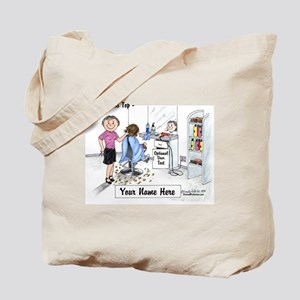 Hair Dresser, Female Tote Bag