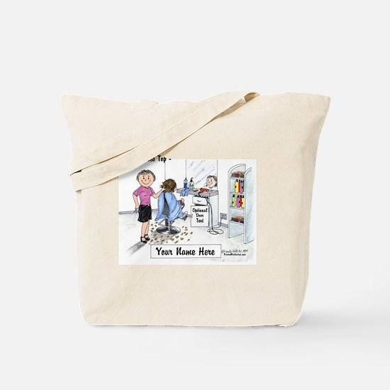 Hair Dresser, Female Tote Bag
