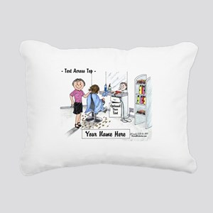 Hair Dresser, Female Rectangular Canvas Pillow